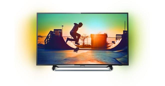 La technologie Ambilight unique de Philips agrandit l'écran et rend votre expérience encore plus immersive en projetant sur le mur un halo de lumière sur deux côtés du téléviseur. Immersion et très haute résolution Le téléviseur Ultra HD Philips 49PUS6262 affiche une résolution quatre fois supérieure à celle d'un téléviseur Full HD classique. Grâce à […]