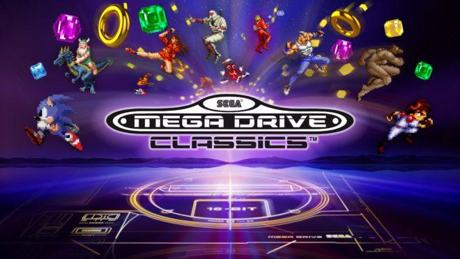 Sega annonce une compilation Mega Drive Classics sur PS4 et Xbox One.