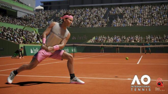 AO International Tennis sera distribué en Europe, , Moyen-Orient et Russie par Microïds.