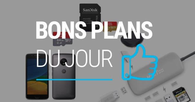 Les meilleures offres Chaque semaine ou presque, SanDisk propose des promotions sur ses périphériques de stockage. Mais aujourd'hui plus que jamais, le choix est large : cartes microSD, clés USB vers Lightning, clés USB standard, clés USB Wi-Fi, base connectée… Jusqu'à 40% de réduction sur les produits Sandisk — Jusqu'à ce soir 23h59 sur Amazon […]