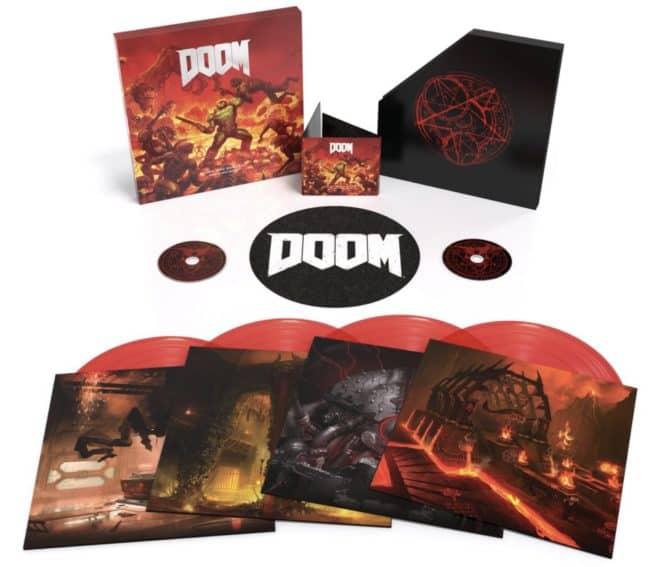 L'OST de DOOM en CD et vinyles