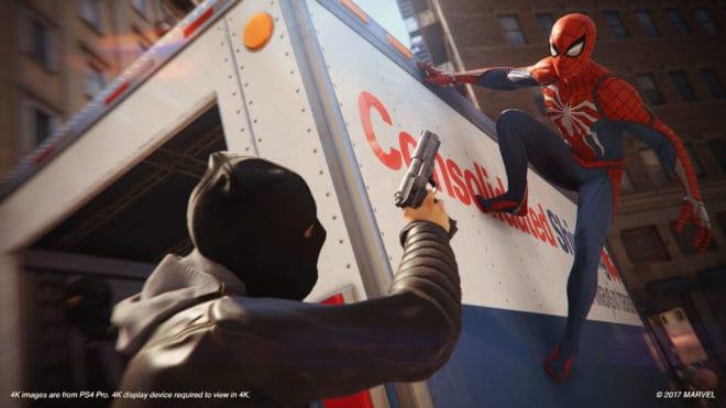 Le Spider-Man d'Insomniac Games se dévoile avec de nouvelles informations.