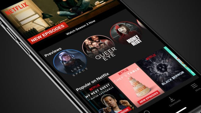 Des trailers verticaux sur mobile pour Netflix