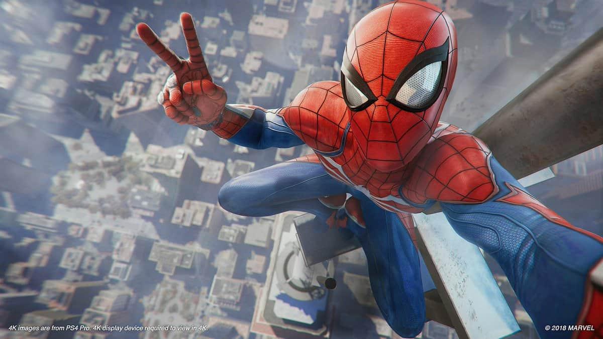Le spider man d 39 insomniac games sortira en septembre 2018 - Les jeux de spiderman 4 ...