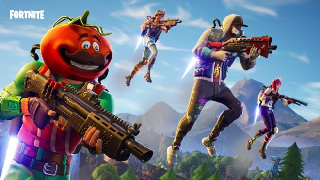 Le mode Coups de pompe de Fortnite