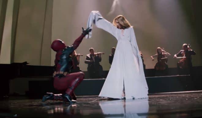Deadpool et... Céline Dion