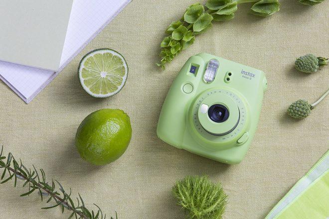 Le Fujifilm Instax Mini 9 coloris Vert citron
