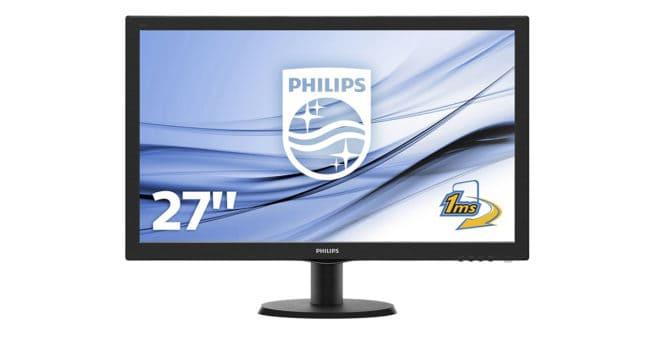 Il a beau avoir un nom barbare, le Philips 273V5LHAB/00 est un moniteur 27 pouces à prix imbattable. Des atouts à tous les niveaux Même si les écrans OLED et leur noirs infinis procurent des contrastes jusqu'ici inespérés, les dalles LED ne sont pas en reste pour autant, et équipent toujours une très large majorité […]