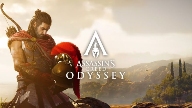 Assassin's Creed Odyssey se dévoile à l'E3 2018.