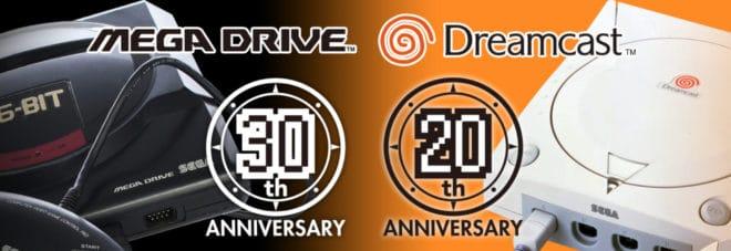 Un site web pour l'anniversaire de la Mega Drive et de la Dreamcast.