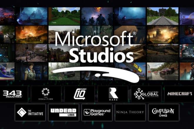 Microsoft annonce l'achat de nouveaux studios lors de sa conférence pour l'E3 2018.