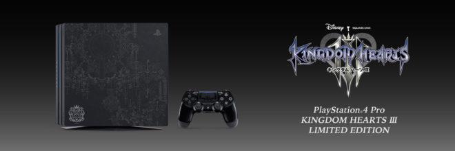 Une PS4 Pro Kingdom Hearts 3 se dévoile à l'E3 2018.