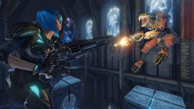 La période gratuite pour Quake Champions est rallongée d'une semaine.