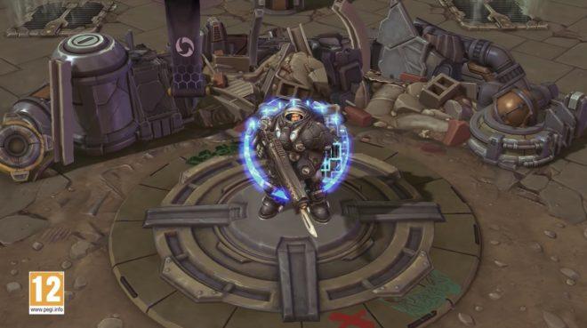 Raynor dans Heroes of the Storm