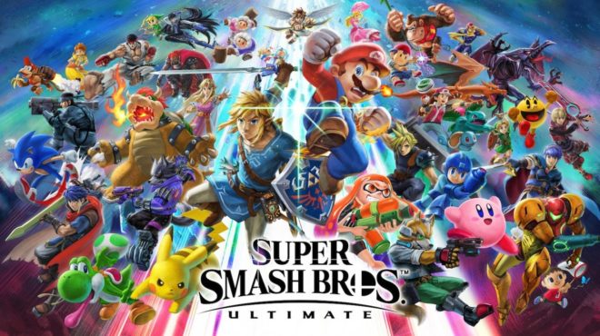 Super Smash Bros Ultimate sur Switch se dévoile à l'E3 2018.