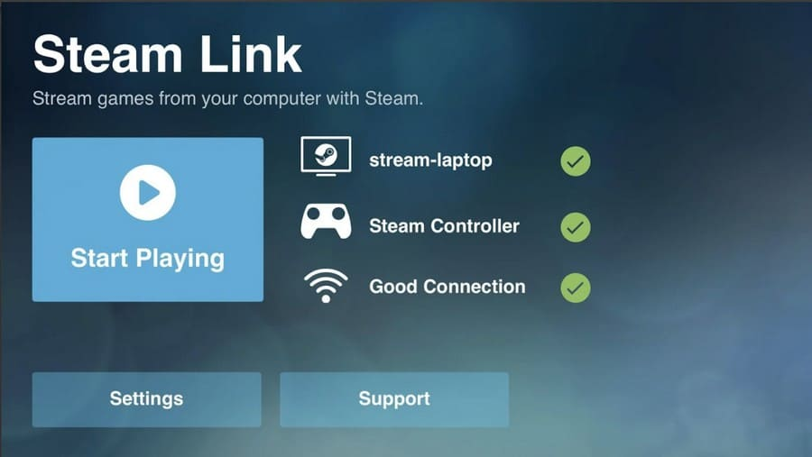 The Valve Steam Link app is now available on macOS