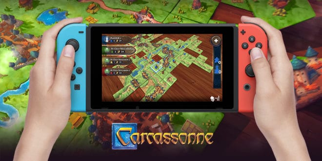Carcassonne sur Switch