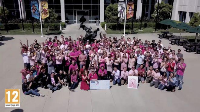 La campagne de bienfaisance Ange rose