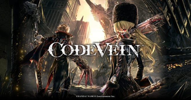 Code Vein est reporté pour 2019.