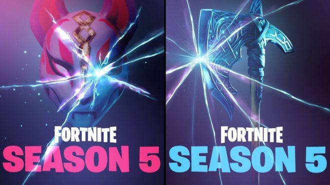 La saison 5 de Fortnite est là !