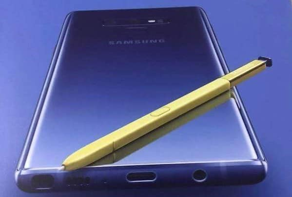 Galaxy Note 9 image promotionnelle