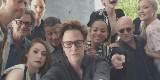 James Gunn et le casting de Guardians of the Galaxy