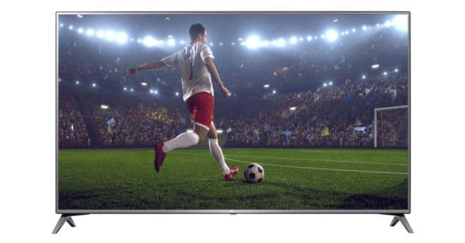 Avec son réhausseur de contraste HDR, sa résolution améliorée en qualité 4K et son son surround sur 7 canaux, le téléviseur LG 55UJ630V est un téléviseur où foisonnent les détails, la lumière et les bruits. Une image superbe et un son restitué justement Avec ses bords fins, la TV UHD de LG fait la part […]