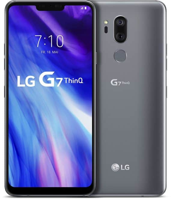 Test lg g7 thinq sur for Tester son ecran pc