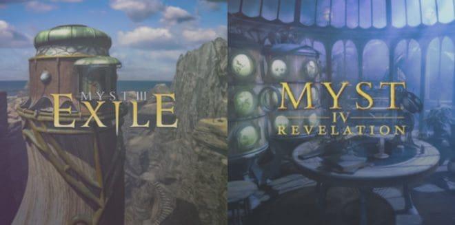 Myst III: Exile & Myst IV: Revelation