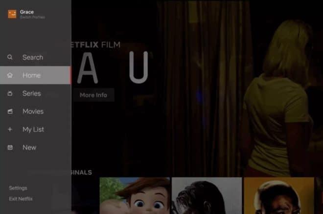 Netflix sur TV