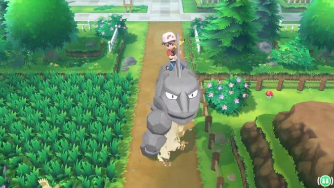 Un trailer inédit et de nouvelles informations pour Pokémon Let's Go.