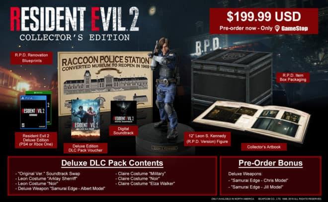 L'édition collector de Resident Evil 2