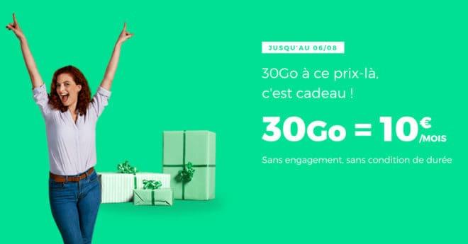 La nouvelle édition du forfait illimité de RED by SFR part sur une coquette enveloppe de 30 Go de données mobiles en France, mais permet également de mettre la main sur 3 Go de data pour rester connecté à l'étranger. Un forfait au prix fixe à vie Avant de rentrer dans les détails, intéressons-nous au […]