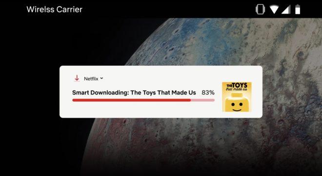 Le téléchargement intelligent sur Netflix