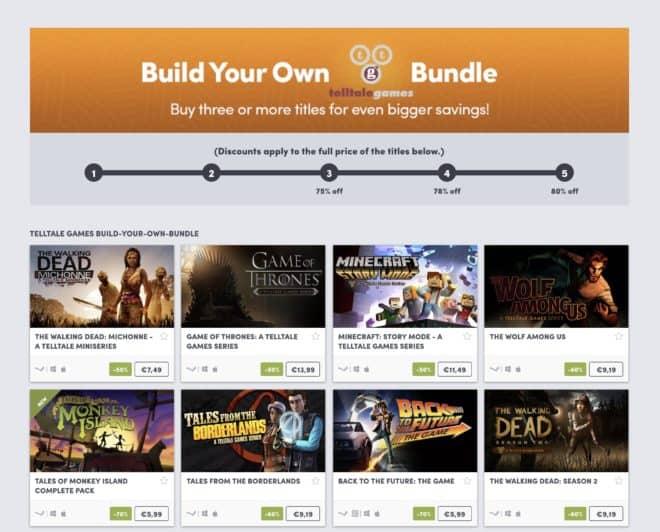 BYO Telltale Games Bundle