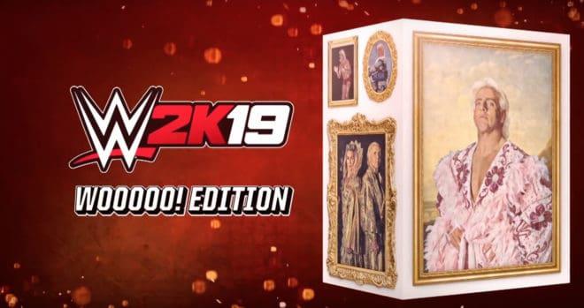 La Wooooo! Edition de WWE 2K19 va mettre à l'honneur Ric Flair.