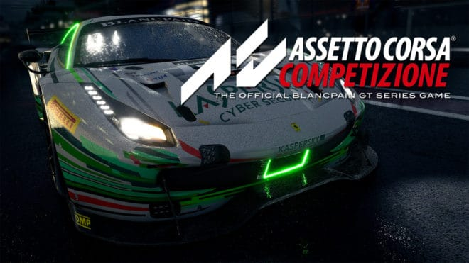 L'accès anticipé d'Assetto Corsa Competizione sur PC est datée.