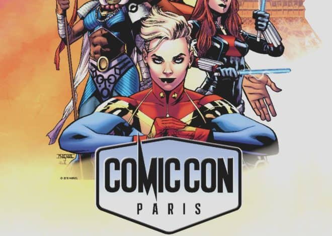 L'affiche 2018 du Comic Con Paris