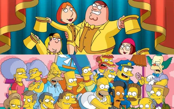 Family Guy et les Simpson