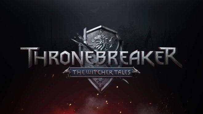 Thronebreaker se dote d'un logo totalement inédit.