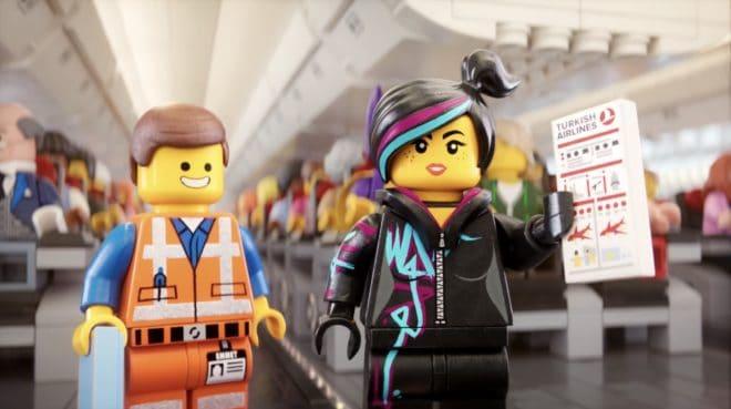 La sécurité sur les vols Turkish Airlines façon Lego