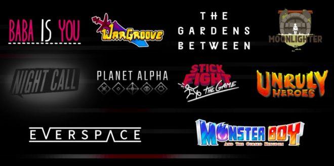 Nintendo annonce pleins de jeux indépendants pour la Switch.