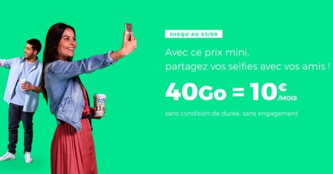 Chaque mois RED by SFR, le MVNO (Opérateur de réseau mobile virtuel) de l'opérateur français, propose un forfait identique où la seule variable est le montant de données mobiles que peut utiliser l'abonné. Après un mois à 30 Go, RED frappe fort et propose jusqu'au 3 septembre pas moins de 40 Go de data, ainsi […]