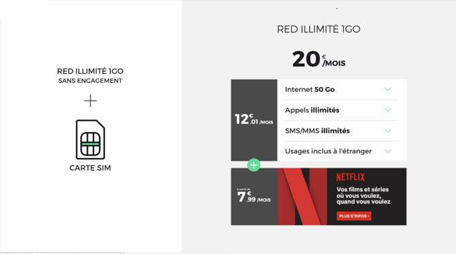 """L'opérateur de réseau mobile virtuel de SFR surprend tout le monde aujourd'hui en proposant un forfait particulièrement intéressant. Déjà grand habitué des offres """"sans engagement"""" et """"prix fixe à vie"""", le MVNO RED by SFR peut ajouter une autre carte à son jeu, peut-être décisive pour prendre l'avantage sur ses concurrents. 50 Go de data […]"""