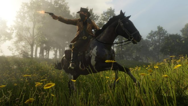 Rockstar Games diffuse le premier gameplay officiel de Red Dead Redemption 2.