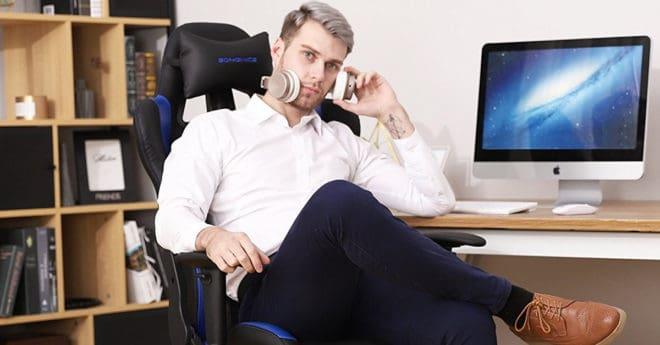 Les gamers, et toutes les personnes travaillant devant un ordinateur en général savent qu'il est important d'avoir un bon maintien dorsal et une posture droite pour éviter les douleurs en fin de journée, voire d'accumuler de la tension sur le long terme. On peut notamment veiller à avoir l'écran au niveau des yeux pour tenir […]