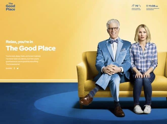 The Good Place s'invite dans Chrome