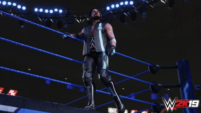 Deux images in-game pour WWE 2K19.
