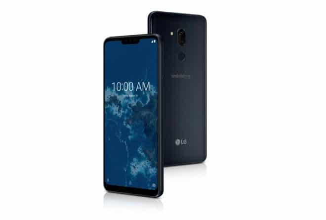 LG G7 One sous Android One