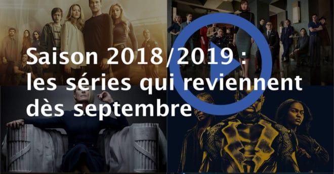 Notre sélection des séries qui commencent de nouvelles saisons jusqu'à décembre